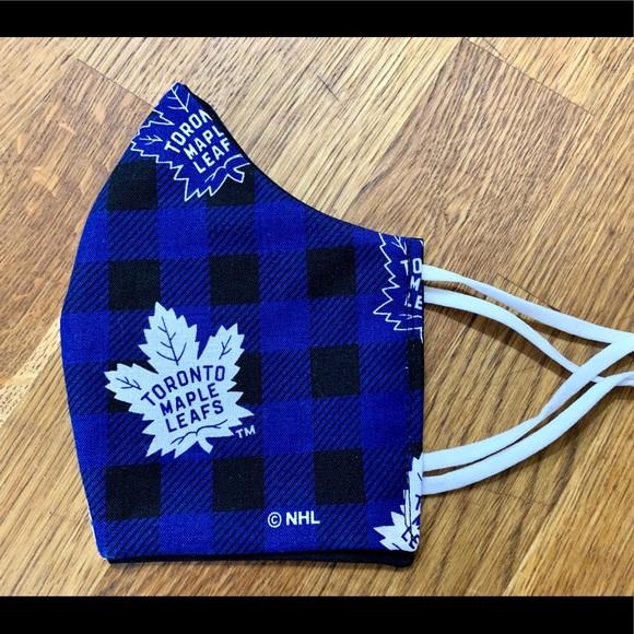 Toronto Maple Leafs,face Mask, Washable, handmade